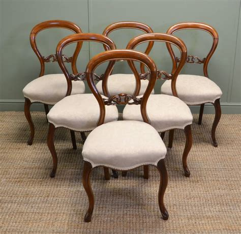 antique balloon back chairs antiques world