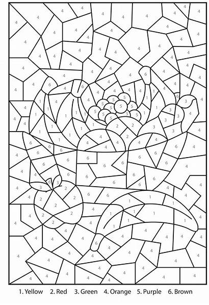 Number Printable Coloring Pages Printables
