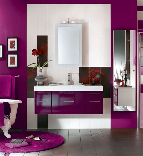 Color For Bathrooms 2014 by Indogate Cuisine Moderne Couleur Aubergine
