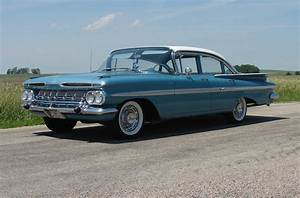 1959 Chevrolet Styling Explained  Impala In Crown Sapphire