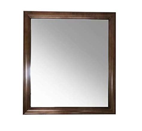 Maple Bathroom Mirror by Maple Walnut Solid Wood Rectangular Bathroom Vanity Mirror