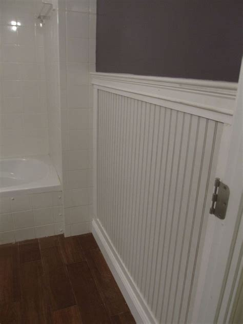 hometalk beadboard bathroom