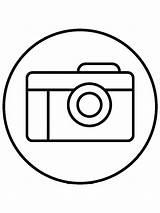 Camera Coloring Kamera Gambar Sketsa Contoh Gaddynippercrayons Capturing Recording Optical Device Still Lengkap Kumpulan sketch template