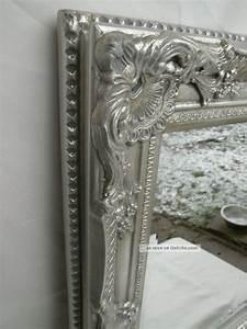 Wandspiegel Silber Antik : gro er wandspiegel spiegel barock stil bad flur antik silber holz 54x44x5cm ~ Watch28wear.com Haus und Dekorationen