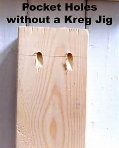How to Make Pocket Holes WITHOUT a Kreg Jig - Mom in Music