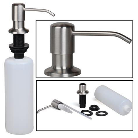 dish soap dispenser for kitchen sink stainless steel built in kitchen sink dish soap
