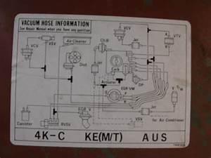 Tech Engine  K Series  4k-c  4k-c Emission System Diagram