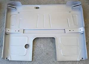 1948-52 Ford F-100 Cab Floor Complete 48-52  With Lower Braces  U0026 Inner Cab Corner