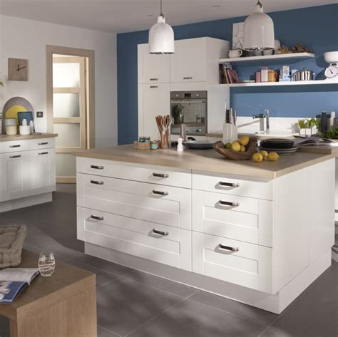 cuisine kadral en bois blanc castorama photo 5 20
