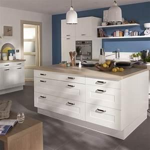 Bleu De Travail Castorama : cuisine kadral en bois blanc castorama photo 5 20 ~ Dailycaller-alerts.com Idées de Décoration