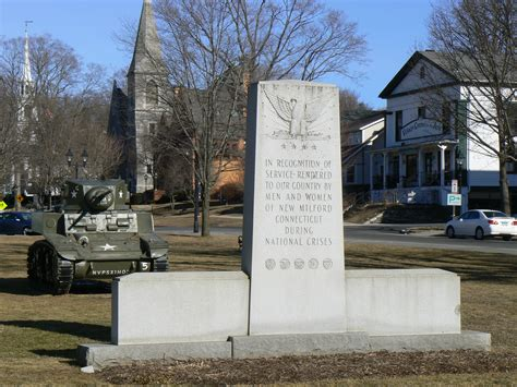 war memorials new milford ct monuments net