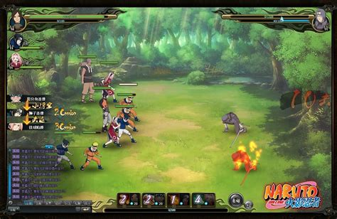 Naruto Online A Brief Look At The Official Browser Game