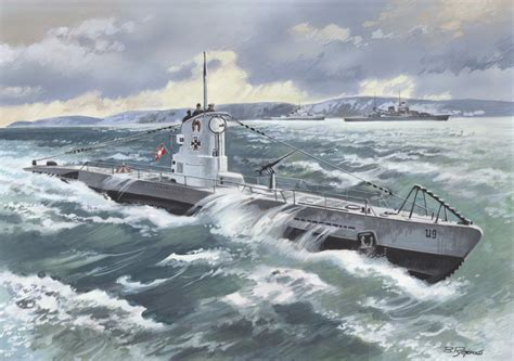 U Boat Pictures by Ships 187 Icm Holding Plastic Model Kits