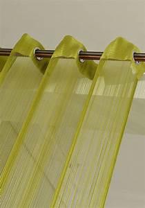 Gardinenstange 250 Cm Einläufig : fadengardine fadenstore vorhang mit sen raumteiler 140 x 250 cm apfelgr n ebay ~ Bigdaddyawards.com Haus und Dekorationen