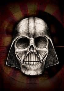 Darth Vader Skull Drawing