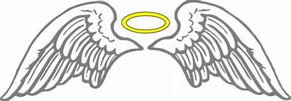 Wings Angel Clipart Transparent Clip Halo Background