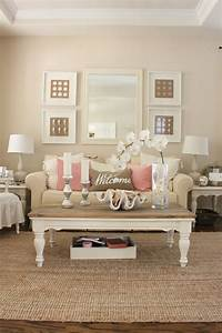 Pink, Decor, For, Living, Room, And, Dining, Room
