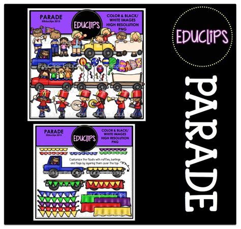 Parade Clipart Parade Clip Bundle Color And B W Welcome To