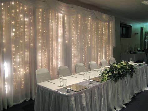 drape lights weddings wedding backdrop inspiration our favorite wedding