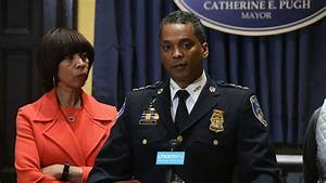 Baltimore mayor fires police commissioner, citing rise in ...