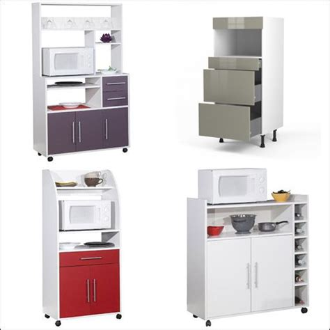 meuble colonne pour cuisine meuble colonne four et micro onde pas cher cuisine en image