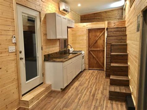 Brand New tiny house on wheels built by custom home