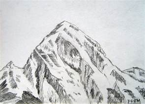 Simple Mountain Drawings Photo by By Prem Simple Sketches Of Mountains