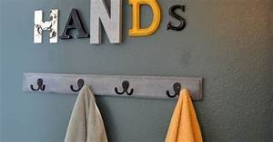 so cute paint letters from hobby lobby different colors With letter hooks hobby lobby