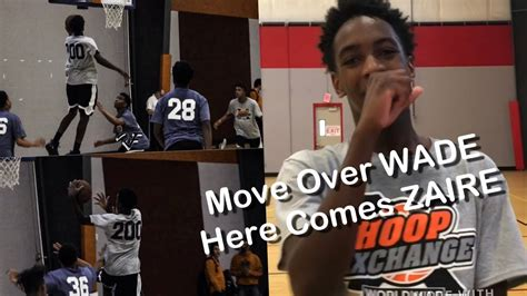 Move Over Wade Here Comes Zaire (hoopexchange 2018 Spring