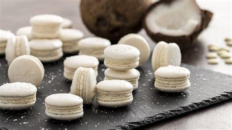 coconut macarons youtube