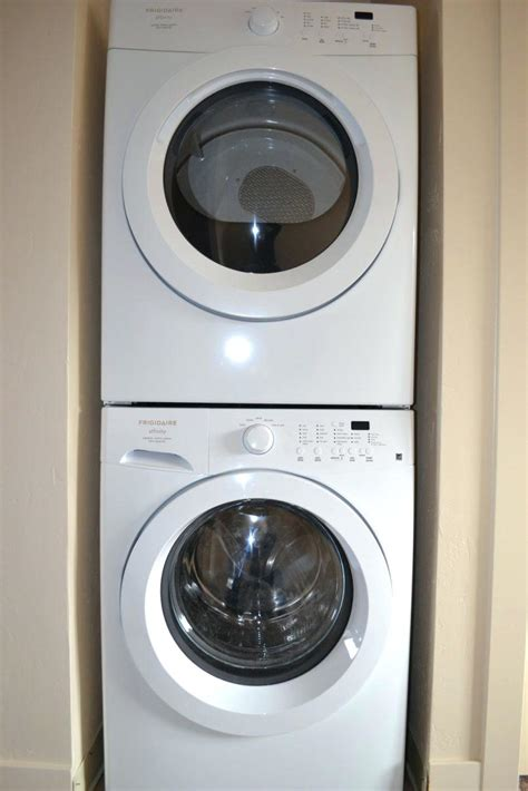 washer dryer sizes apartment size washer and dryer dimensions stackable