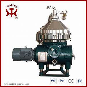China Dhzys Series Edible Oil Disc Centrifuge Separator