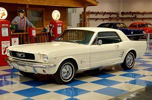 1966 Ford Mustang Coupe – Wimbledon White – A&E Classic Cars