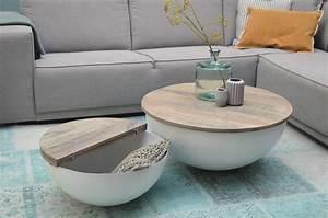 Couchtisch Set Rund : design couchtisch mango holz sophie metall rund ~ Whattoseeinmadrid.com Haus und Dekorationen