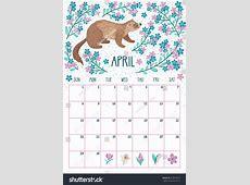 April Month 2018 Calendar Design Free Indo Templates