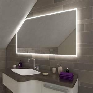 Badspiegel Mit Tv : namek led badspiegel mit dachschr ge online kaufen ~ Eleganceandgraceweddings.com Haus und Dekorationen