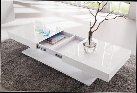 buffet de cuisine fly table basse relevable moins cher table basse design blanc laque avec rangements et plateaux