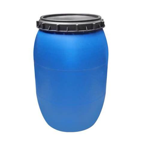 Tambor plástico com tampa - 200 litros TBR200