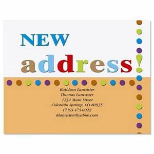 new address postcard current catalog With custom new address cards
