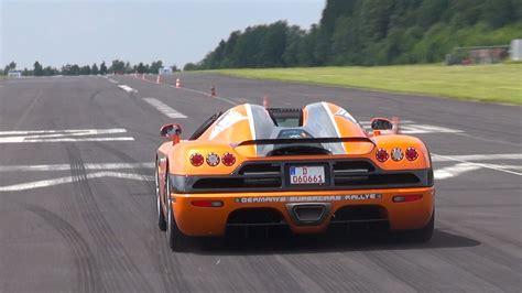 Koenigsegg Ccx Brutal Acceleration Youtube