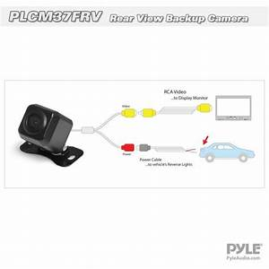 New Pyle Plcm37frv Universal Mount Optional Front  U0026 Rear