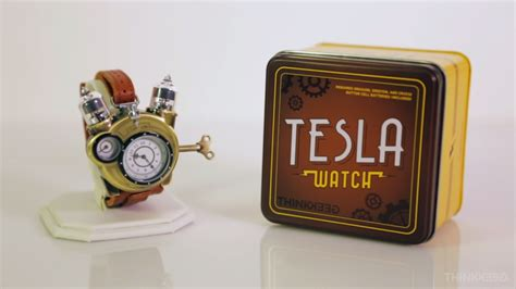 Thinkgeek Winds Back The Clock With Their Tesla Watch