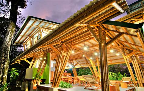 Modern Bamboo House Plans Lighting — Modern House Plan