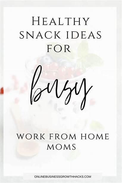 Snack Healthy Moms Snacks Meals