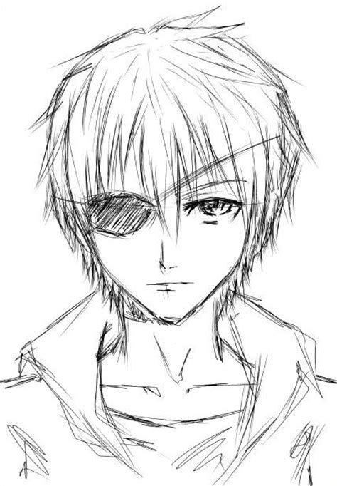 Anime Boy Eye Patch A Boy With Eyepatch By Rutogreen On Deviantart
