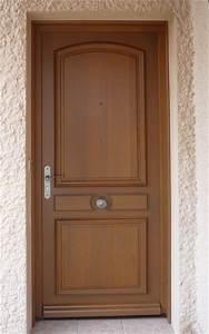 Porte D Entrée 3 Points : portes d 39 entr e bois sur mesure lyon menuiserie berthaud ~ Edinachiropracticcenter.com Idées de Décoration