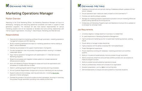 Operations Coordinator Description by Description Marketing And Templates On