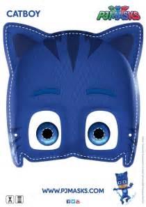 pj masks template make your own catboy mask pjmasks activitysheet disneyjunior pj masks search