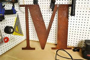 rusty metal letters 12 rustic sign letter vintage With rustic metal wall letters