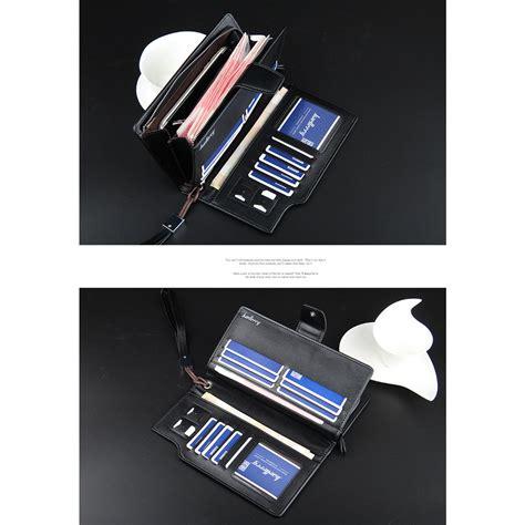 heng sheng dompet kulit model panjang black